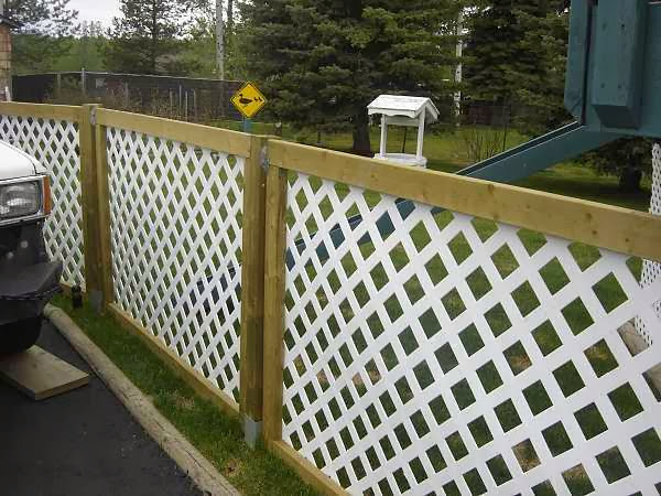 Inexpensive Fence Ideas picture