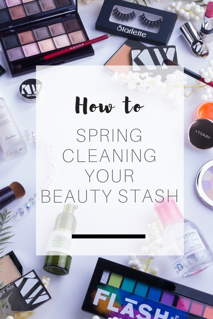 Mission Spring Cleaning: Roll up your sleeves, take out your cleaning kit and lets do some cleaning together - Step 2: Makeup & Beauty stash | Ioanna's Notebook