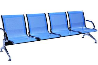 Ghế băng chờ lưng lưới hiện đại của nội thất Fami