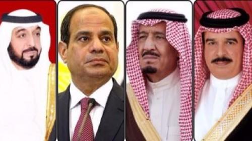 الرباعى العربى يفضح أكاذيب قطر بجنيف.. وبيان ناري لمصر والسعودية والبحرين والإمارات