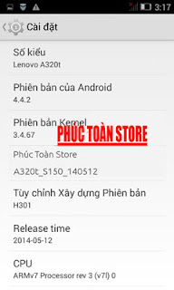 Rom tiếng Việt Lenovo A320T 4.4.2 alt