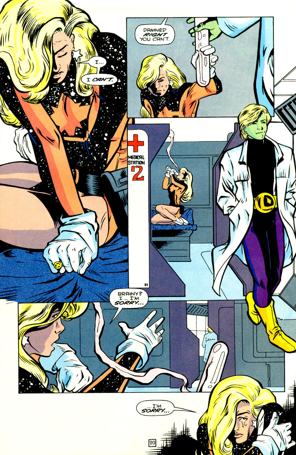 Legion of Super-Heroes (1989) 70 Page 21