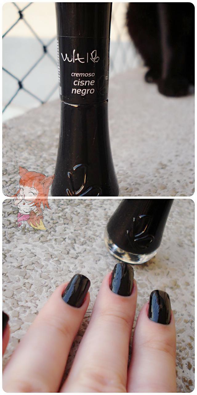Esmalte Vult :: Cisne Negro - Resenha