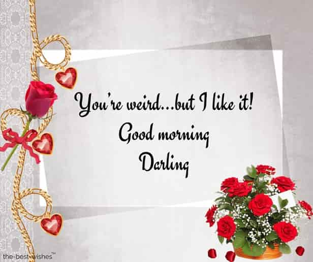 good morning darling picture
