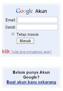 tidak bisa mengakses akun gmail