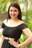 Mannara Chopra in Short Off Shoulder Black Dress ~  Exclusive 053.JPG
