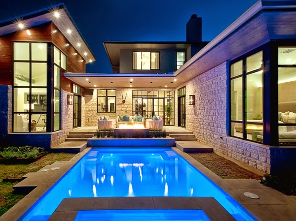 Decoration Modern Pictures Of Beautiful Houses: تصاميم منازل ريفية جميلة