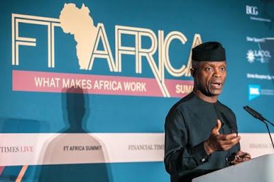 """Yemi Osinbajo 600x400 - 9JA NEWS: Running for President is not """"on the cards"""" – Yemi Osinbajo"""