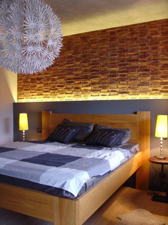 Decorar pared cabecero cama