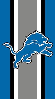 Wallpaper Detroit Lions blue para celular gratis