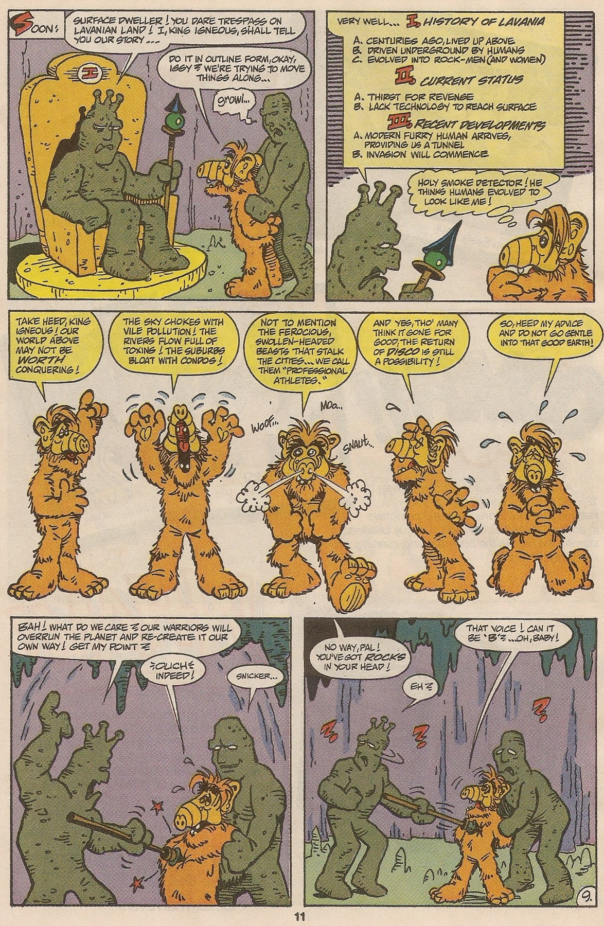 Read online ALF comic -  Issue #46 - 13