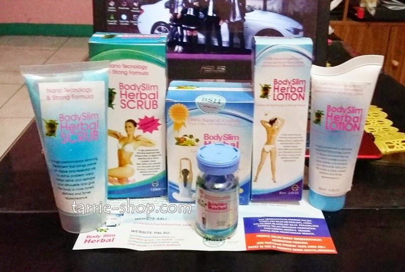 PAKET Body Slim Herbal 3 In 1