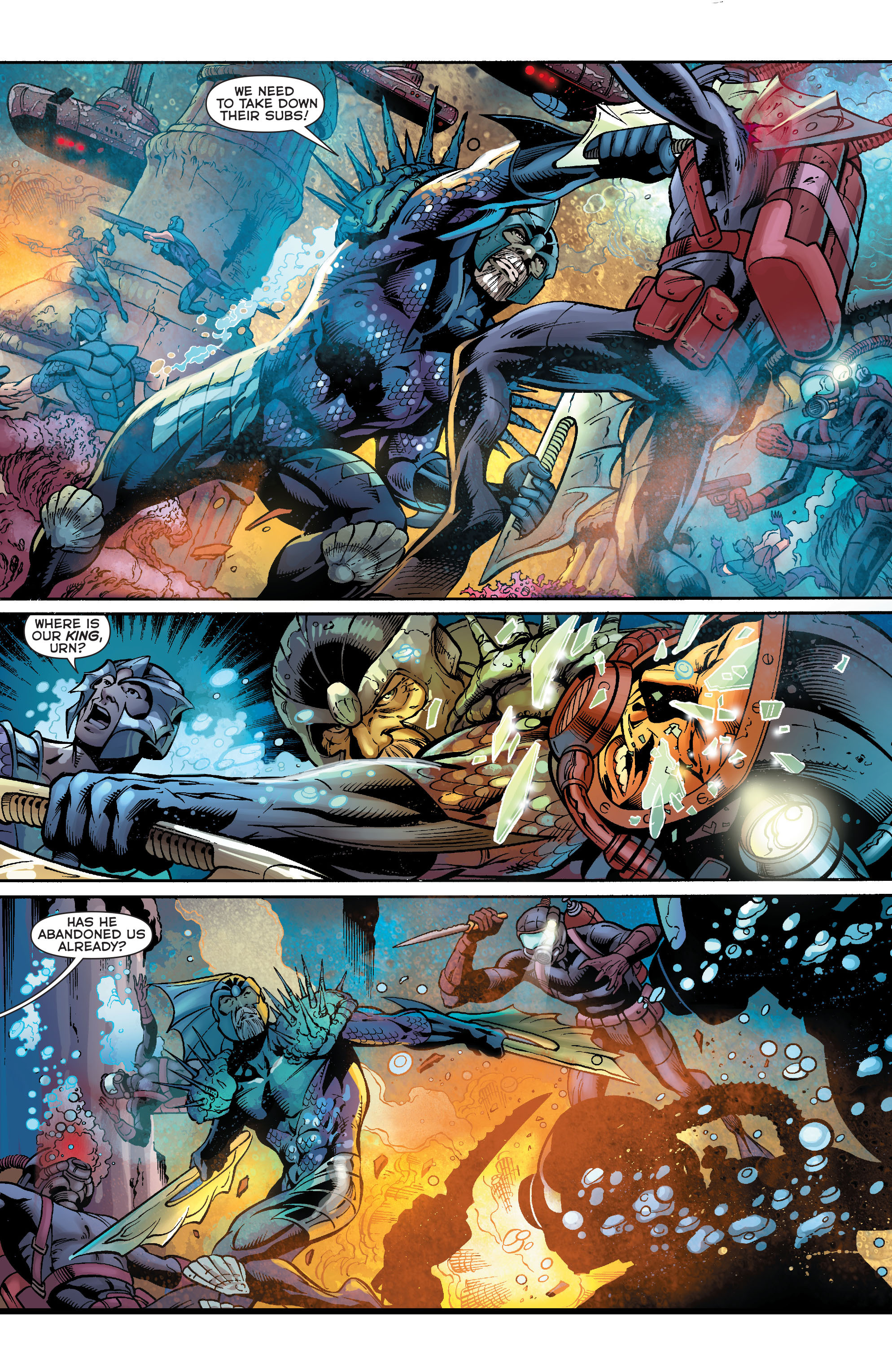 Read online Aquaman (2011) comic -  Issue #23 - 10