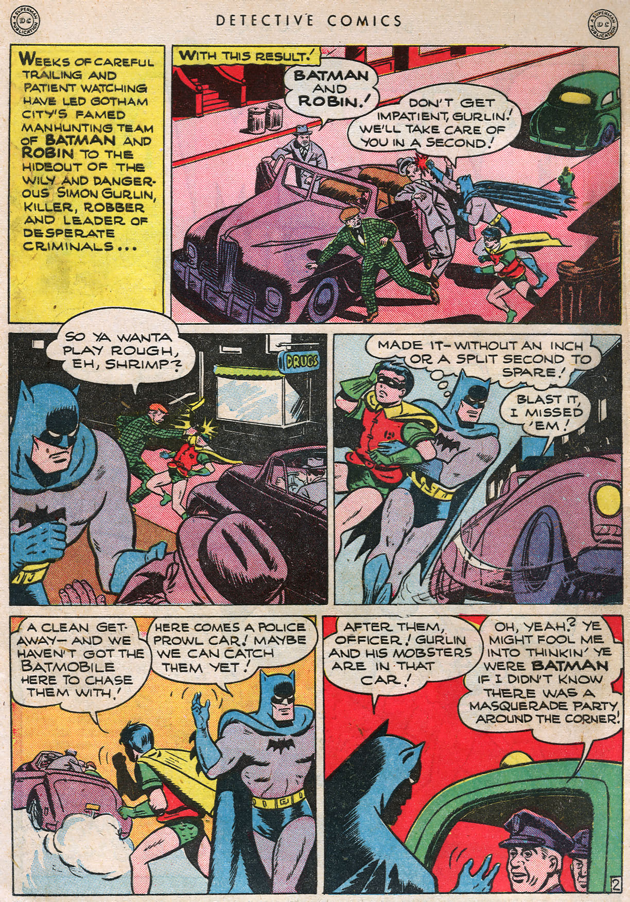 Read online Detective Comics (1937) comic -  Issue #105 - 4