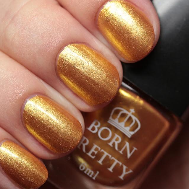 Born Pretty Store Stamping Polish #1 Gold