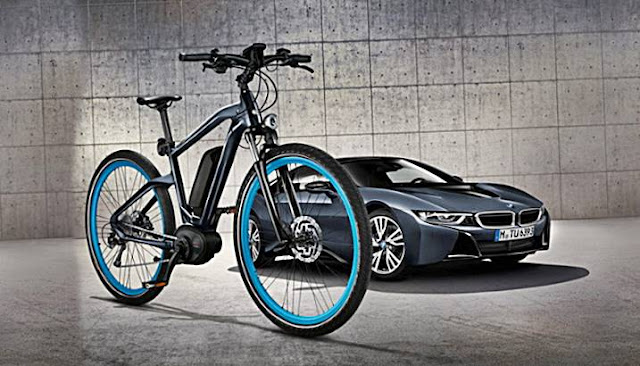 BMW Cruise E-Bike Limited Edition Launches in Protonic Dark Silver
