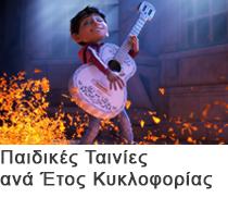 Οι καλύτερες Παιδικές Ταινίες Ανά Έτος Κυκλοφορίας