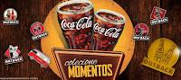 Promoção Colecione Momentos Coca-Cola Outback 'Pins Dourados'