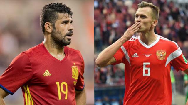 Prediksi Spanyol vs Rusia, 01 Juli 2018