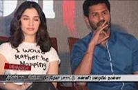 Actress Tamanna Crying On The Stage For Prabhu Deva praises