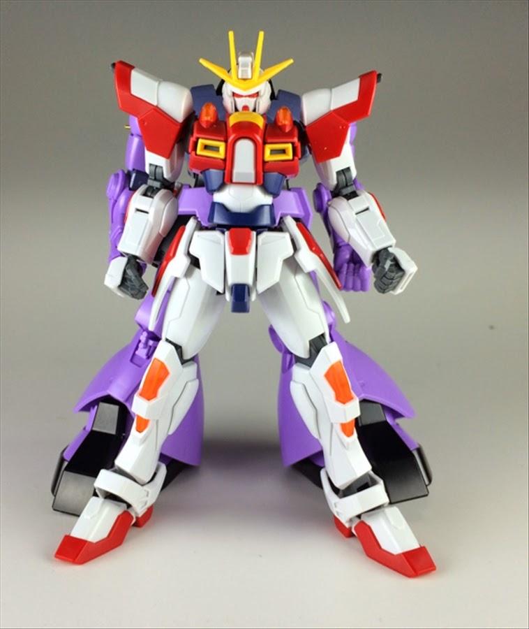 Custom build 1 144 dom x build burning gundam gundam for Domon gundam build fighters try