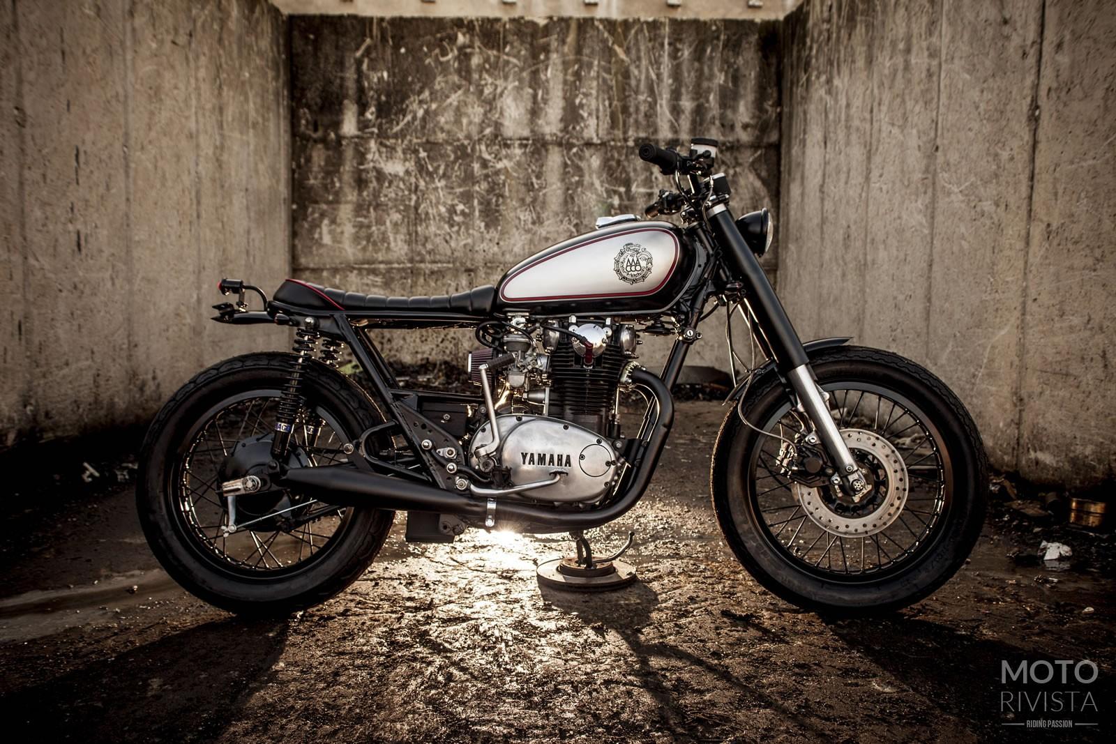 Yamaha XS650 Brat Style Wallpaper