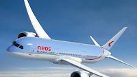 Logo Con Neos Air vinci gratis viaggi in Messico, Guadalupa e Maldive