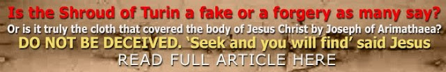 Is the Shroud of Turin a fake or a forgery as many say, click here to find out.