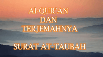 Surah At Taubah termasuk kedalam golongan surat Surat | Surah At Taubah Arab, Latin dan Terjemahan