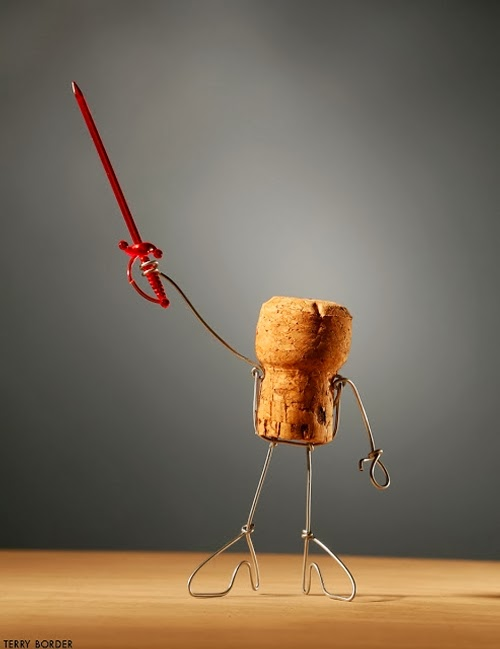 03-Cocktail-Swords-Person-Terry-Border-Photographer-Bent-Objects-Sculptures-www-designstack-co