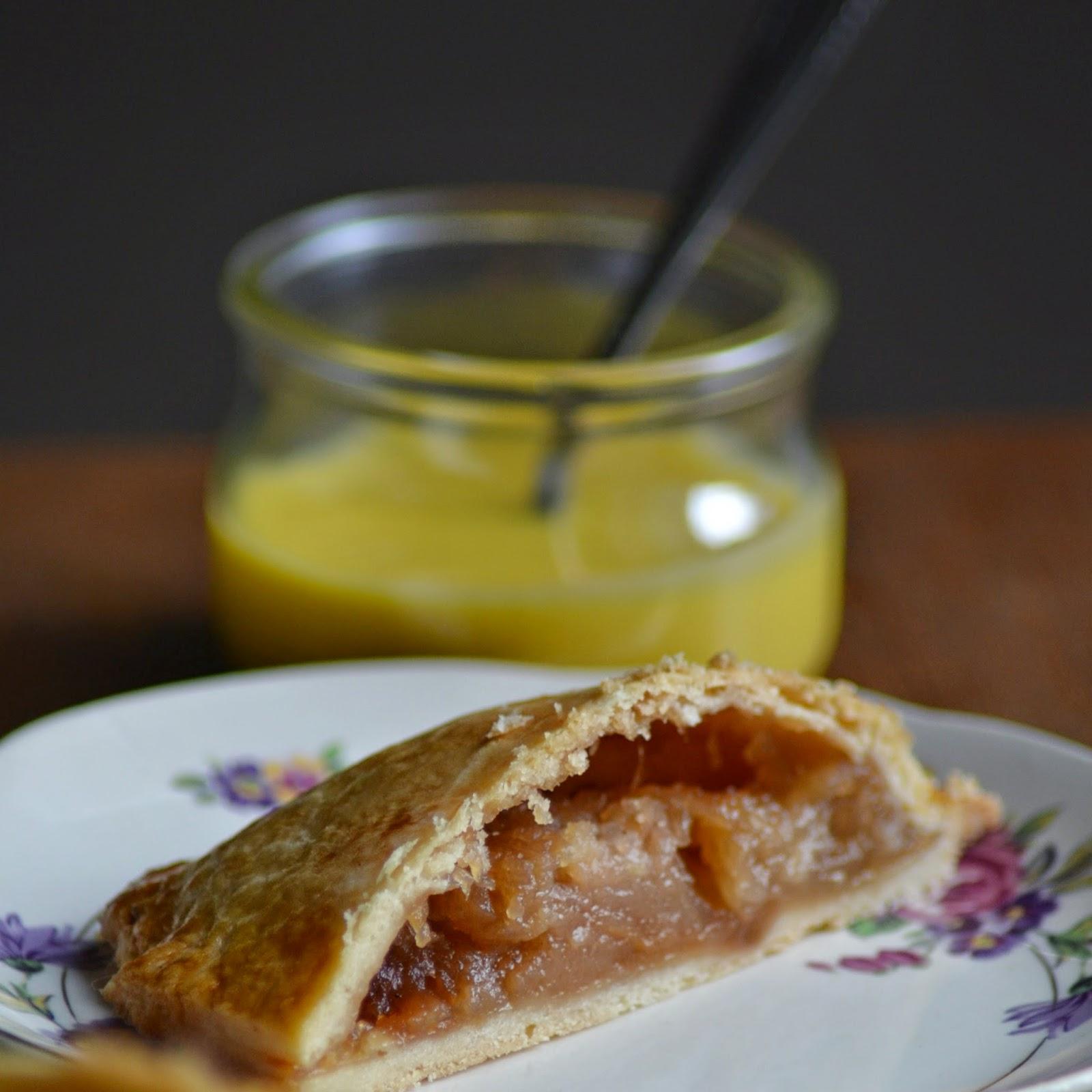 Gerecht uit de Auvergne: Pompe aux pommes - Appelgebak