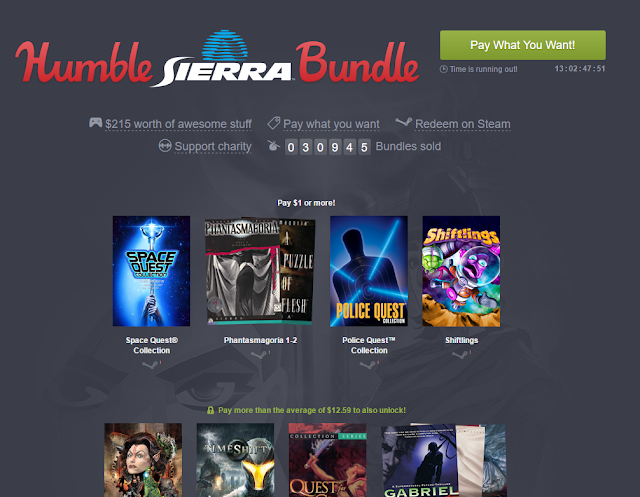 Screenshot of Humble Sierra Bundle