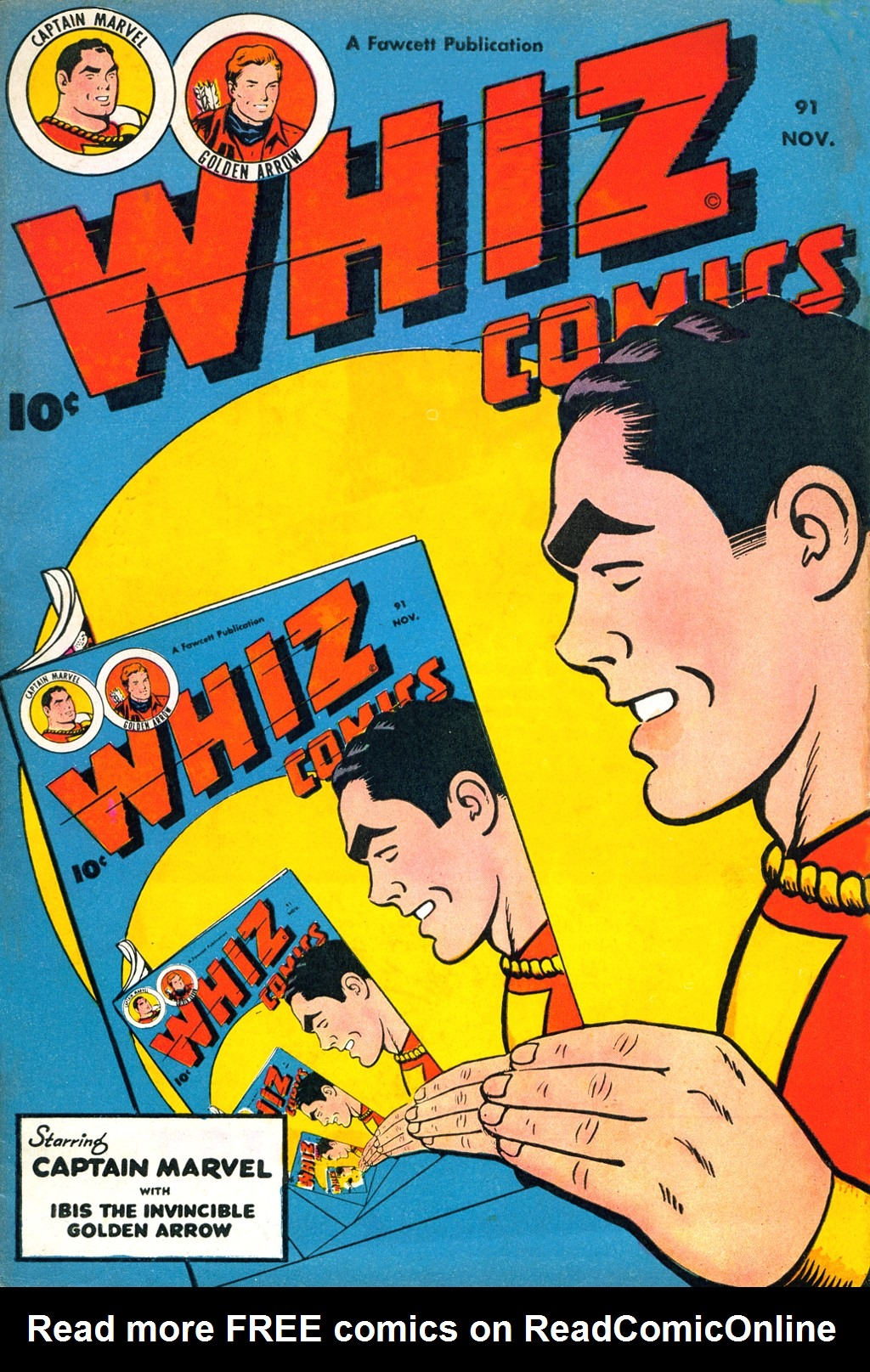 WHIZ Comics issue 91 - Page 1