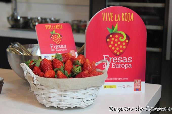 Cocinamos con Fresas de Europa y Alma Obregón
