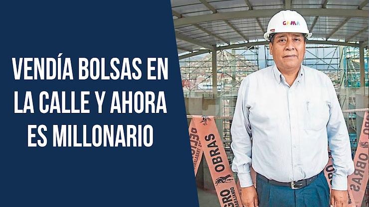 El exitoso empresario peruano que comenzó vendiendo bolsas en la calle