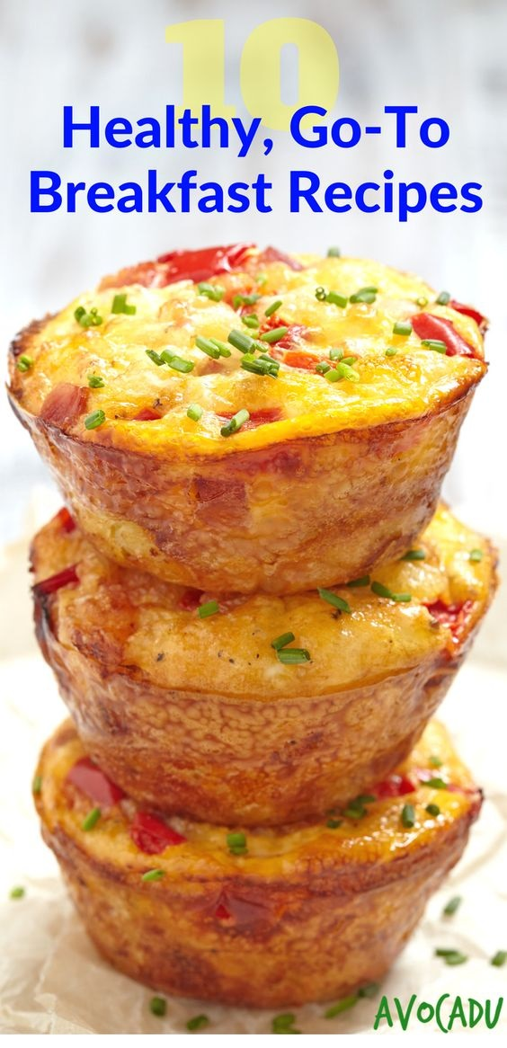 Healthy Breakfast Egg Muffins