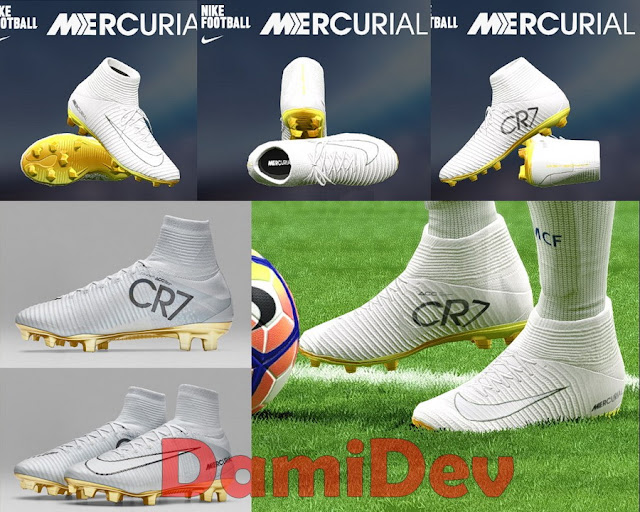 PES 2017 New CR7 Nike Boot by DamiDev