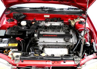 Foto Mesin Mitsubishi Evo 3 Tipe GTi