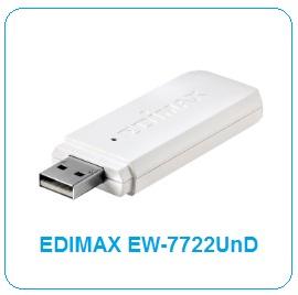 Driver UPDATE: Edimax EW-7722UnD WLAN