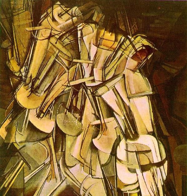 Marcel Duchamp y desnudo descendiendo