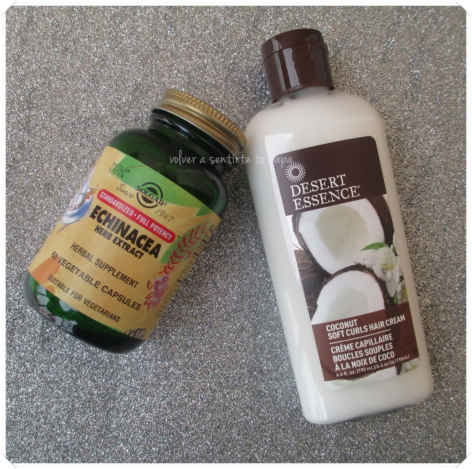 Compras en iHerb {enero 2015} - Equinacea de Solgar y Desert Essence