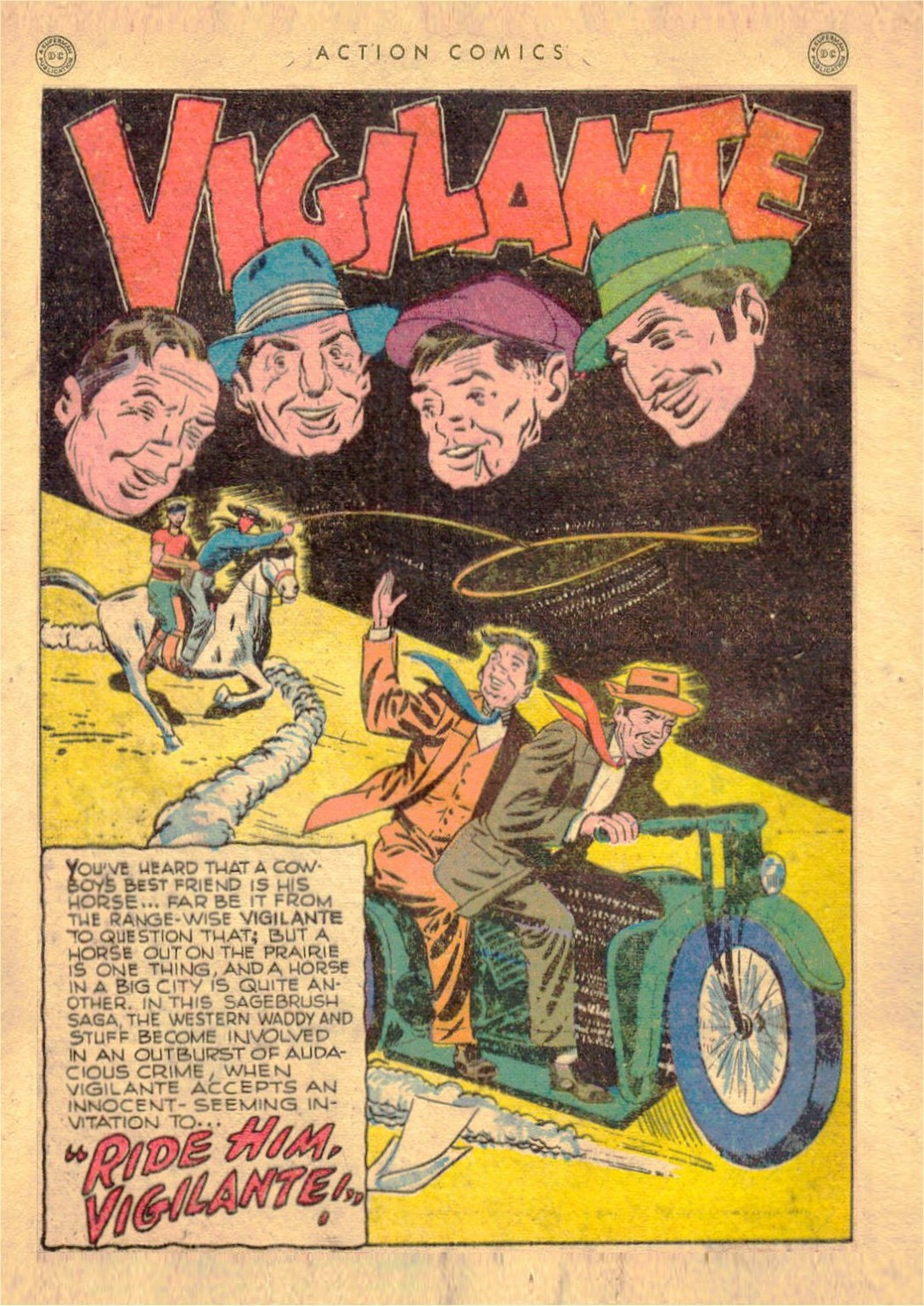 Read online Action Comics (1938) comic -  Issue #107 - 35
