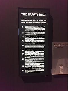 Zero Gravity toilet instructions from 2001: A Space Odyssey
