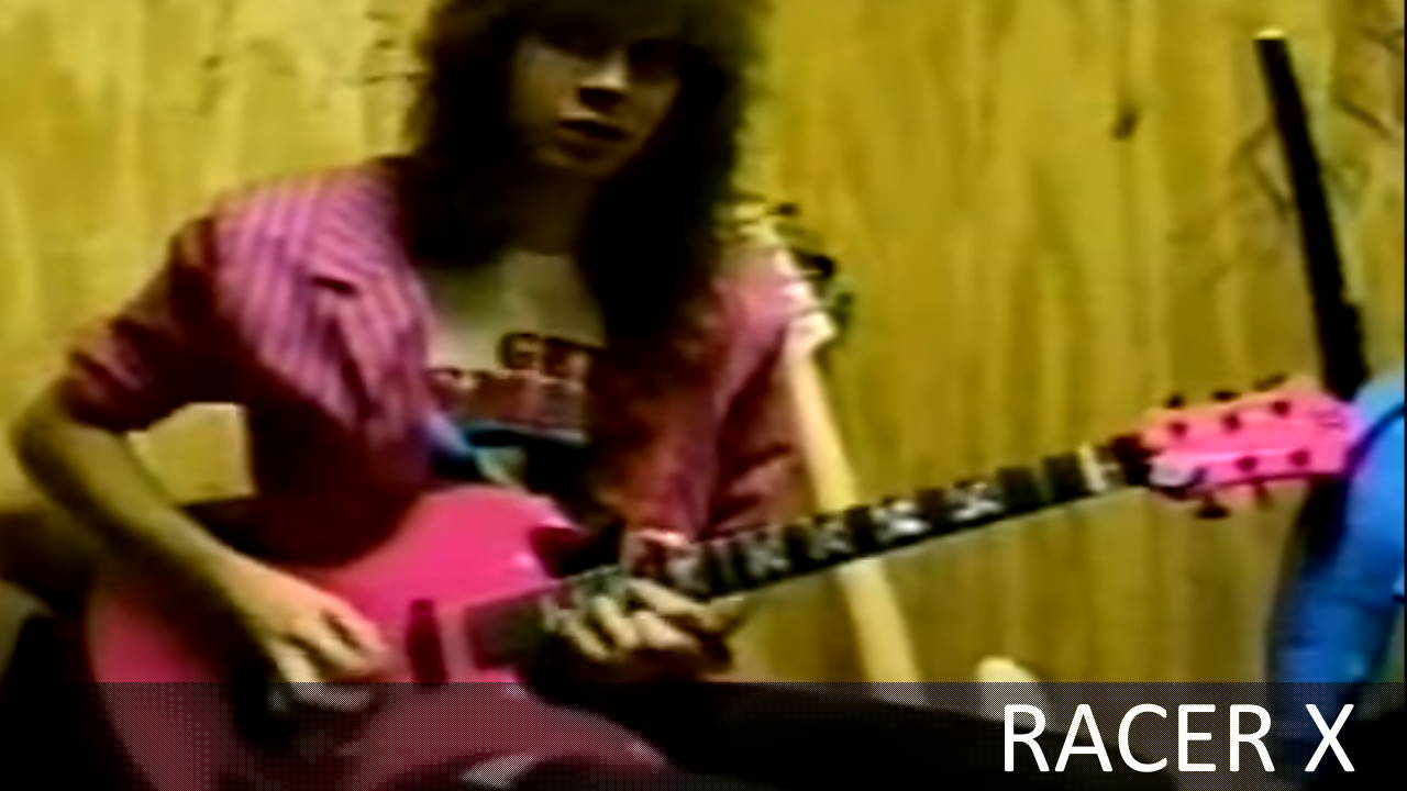 paul gilbert bruce bouillet racer x live at reseda country club 1986 10 18. Black Bedroom Furniture Sets. Home Design Ideas