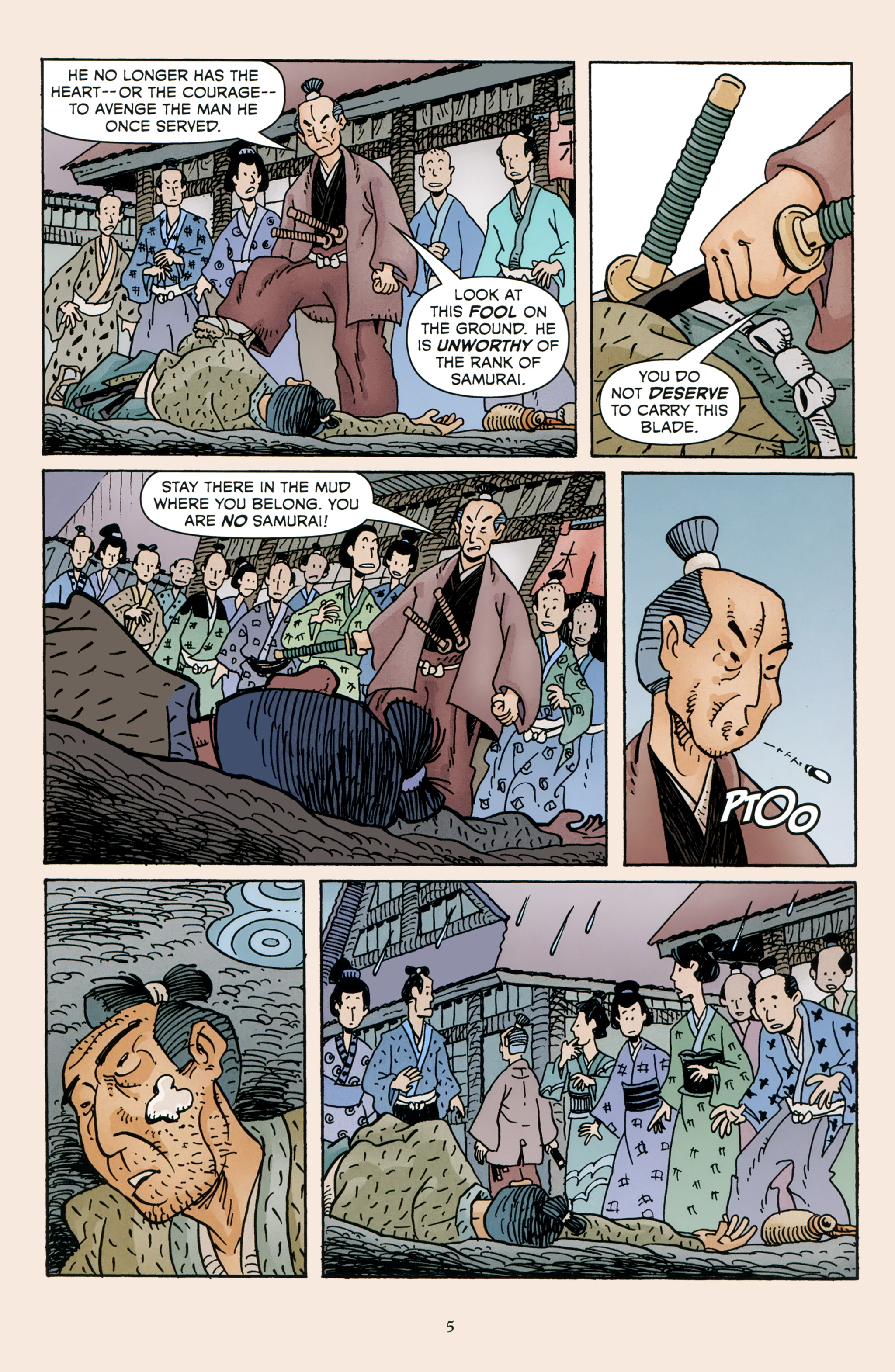 Read online 47 Ronin comic -  Issue #4 - 7