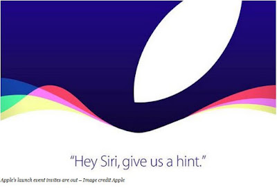 Apple's launch event invites are out – Image credit Apple