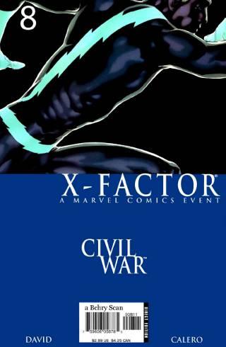 Civil War: X-Factor #8 PDF
