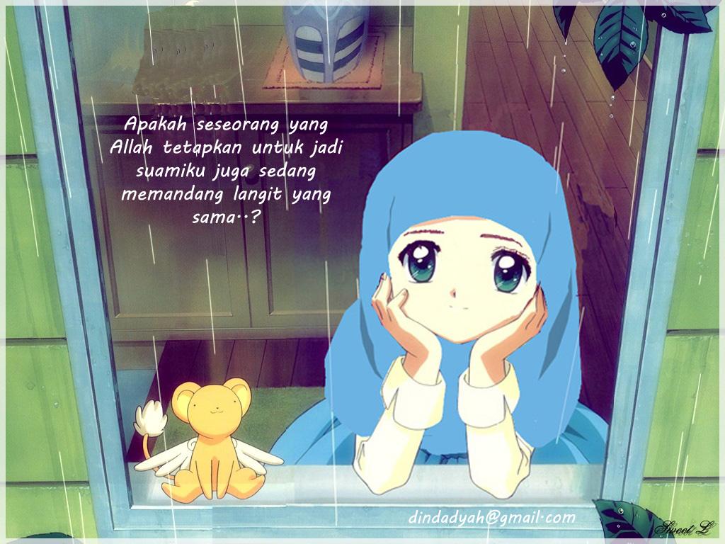 12 Gambar Kartun Muslim Ikhwan Cowok Pria Laki