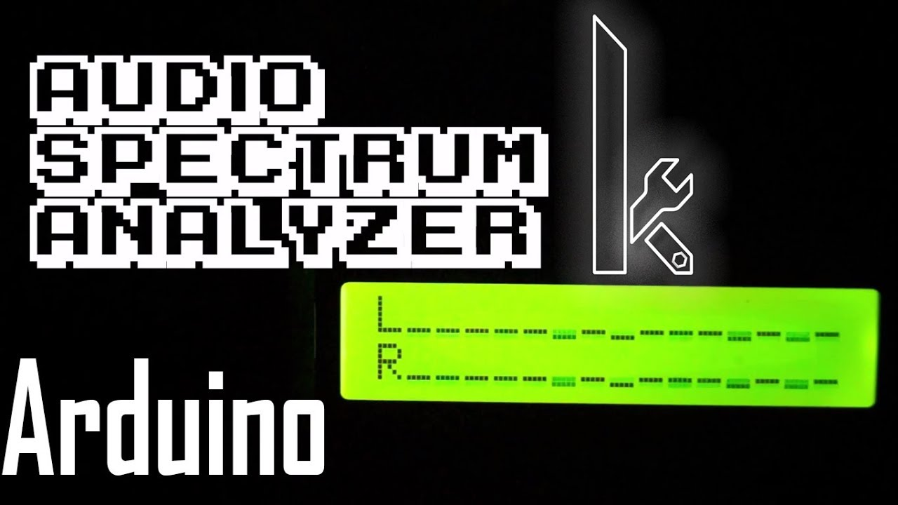 medium resolution of this video will illustrate you how to visualize audio left and right signals in bar graph in 16x2 lcd display using arduino