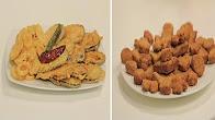 طريقة عمل ناجتس و باذنجان وبطاطس بانيه و فطائر بالبشاميل والجبنة الرومي و بسكوت بالكركم هلال مع نجلاء الشرشابي 5-12-2016
